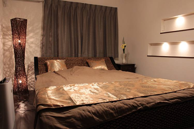 ヒヤシンスのベッド