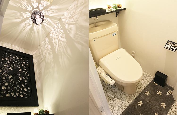 サロン トイレ