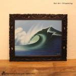 バリ絵画 海の絵